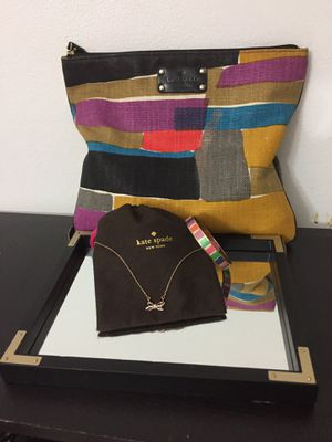 Kate Spade Necklace/Bangle/Bag bundle for Sale in Twin Oaks, MO