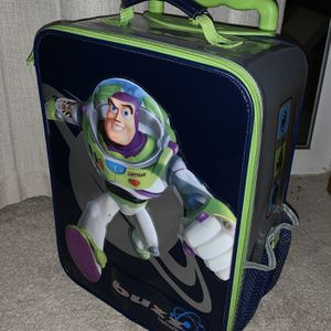 """EUC kid's 18"""" Buzz Lightyear Toy Story suitcase for Sale in Parker, CO"""