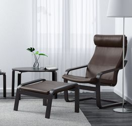 Ikea Poang Chair and Ottoman for Sale in Vancouver,  WA