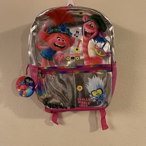Trolls World Tour Backpack for Sale in WA, US