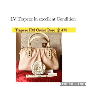 Authentic Louis Vuitton Trapeze PM Cruise Rose for Sale in Lakewood, WA