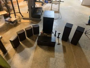 ONKYO surround sound full set without amplifier for Sale in Woodbine, MD