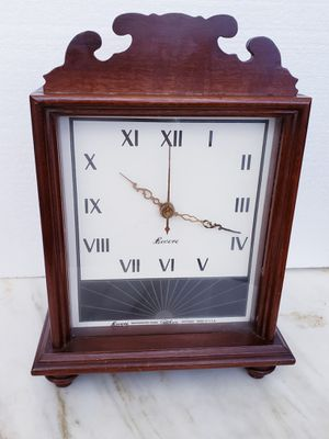 ANTIQUE ELECTRIC REVERE WOOD CLOCK & CHIMES for Sale in New York, NY