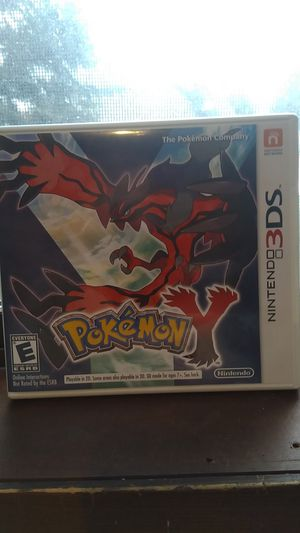 Nintendo Pokemon Y for 3DS or 2DS for Sale in Woodinville, WA