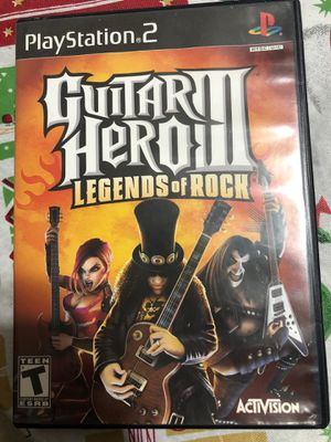 Guitar hero 3 PS2 for Sale in Palos Hills, IL