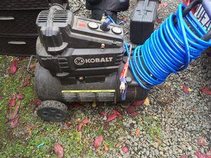 Kobalt air compressor for Sale in Eugene, OR