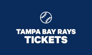 8/16 Rays baseball tickets - rays club- baseball vs Detroit tigers for Sale in TWN N CNTRY, FL