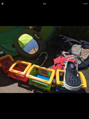 Kids toys,shoes, diaper bag, shirt. Juguetes, zapatos, bolsa para pañales. for Sale in Burbank, CA