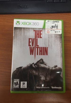 The evil within Xbox 360 game for Sale in Severn, MD