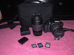 Canon Rebel T5 for Sale in Stockton, CA