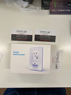 Smart Wall Socket - control your home or business from your phone on and off switch for Sale in Los Angeles, CA