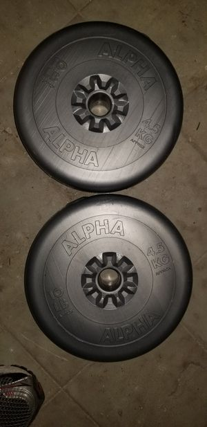 Weight 10lb alpha professional, 2 sets for Sale in Malden, MA