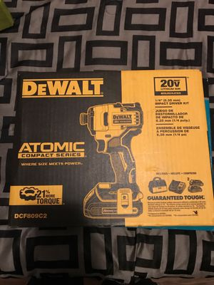 Dewalt 20v impact drill for Sale in Tampa, FL