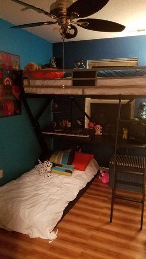 Bunk bed desk for Sale in Lake Ozark, MO