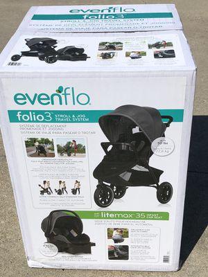EVENFLO FOLIO3 STROLL & JOG TRAVEL SYSTEM for Sale in Dallas, TX