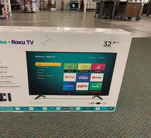 "Brand New Hisense 32"" TV Open box w/ warranty! 5N7TR for Sale in Georgetown, TX"