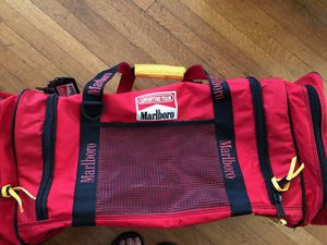 Vintage Large Marlboro Adventure Duffle Bag With Strap $40 for Sale in Los Angeles, CA