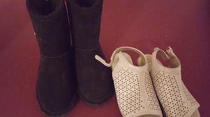 Girls size 2 boots and sandals for Sale in Battle Ground, WA