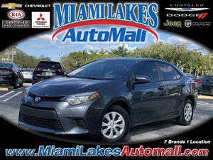 2015 Toyota Corolla for Sale in Miami Gardens, FL