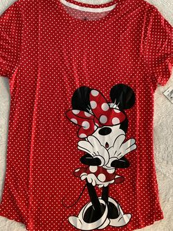 Disney Minnie mouse polkadot shirt for Sale in Casselberry,  FL