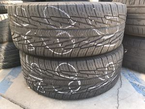 A Pair Of Used 215/60R16 215-60-16 Tire Tires for Sale in Los Angeles, CA