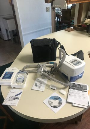CPap machine with masks for Sale in Calimesa, CA