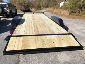 Brand new 20 foot flatbed car hauler trailer for Sale in Cumming, GA