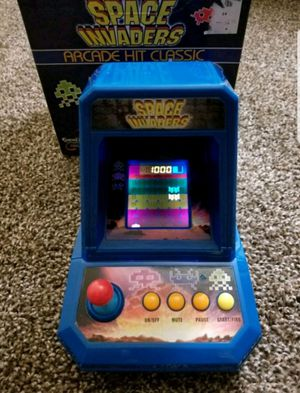 2005 Space Invaders Mini Arcade Game for Sale in Las Vegas, NV