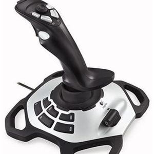 Logitech Extreme 3D Pro Joystick for Windows 12 action buttons eight-way hat switch and a rapid-fire trigger for Sale in Fontana, CA