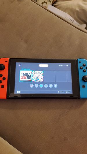 Nintendo switch just console and charger for Sale in Kingsburg, CA