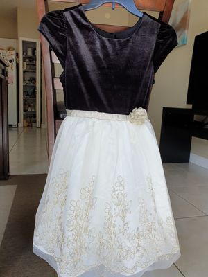 Party Birthday Flower Girl dress Size 12 for Sale in Miami, FL