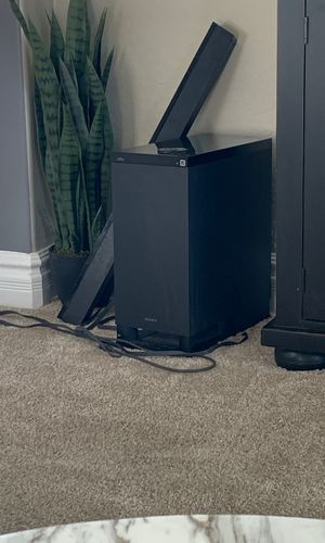 Sony surround sound with sound bar for Sale in Goodyear, AZ