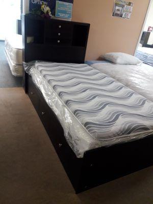 Black twin storage bed frame for Sale in Santa Monica, CA