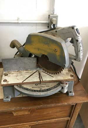 Large Rockwell Motorized Miter Saw & Box RJ for Sale in Lakewood, WA