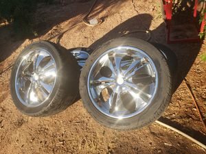 22 in rims $400 obo$ 6 lugs for Sale in Mesa, AZ