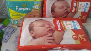 Newborn diapers for Sale in San Bernardino, CA