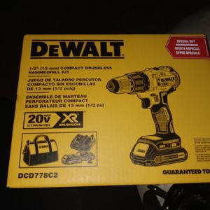 Compact Brushless Hammer Drill for Sale in Glendale, AZ