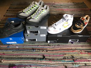 Supreme AF1, Safari AM1, Zoom Vapor AM95, Yeezy Powerphase for Sale in Santa Monica, CA