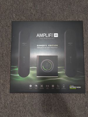 Amplifi HD Gamer's Edition Router with two Mesh Points for Sale in Toms River, NJ