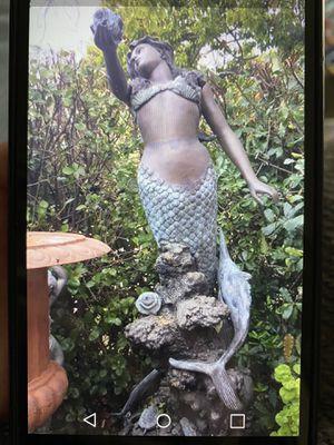 Bronze mermaid fountain for Sale in Folsom, CA