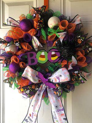 Halloween Dia De Los Muertos Door wreathes for Sale in Colton, CA