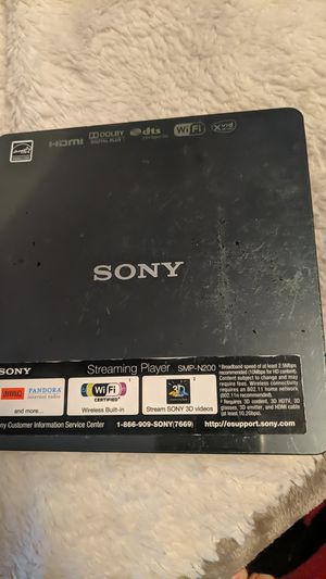 Sony Streaming Player SMP-N200 for Sale in Westminster, CO