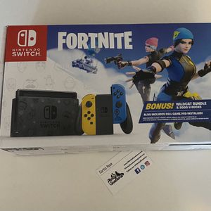 Nintendo Switch Fortnite Bundle for Sale in Los Angeles, CA
