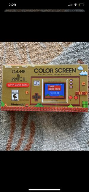 Nintendo game and watch 2020 for Sale in Los Angeles, CA