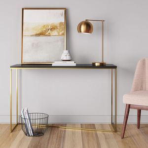 Entryway Table Brass & Black for Sale in Union City, GA