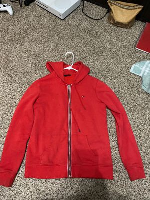 tommy holdover red jacket for Sale in Round Rock, TX