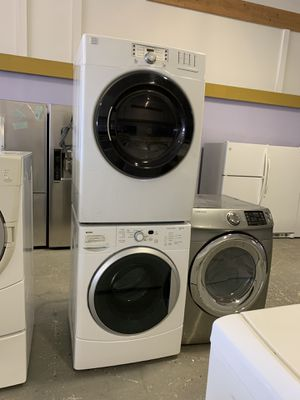 Kenmore front load washer and dryer set electric with warranty for Sale in Woodbridge, VA