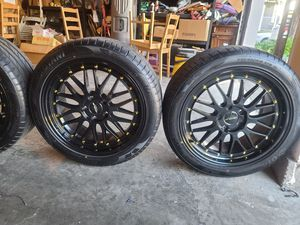 rims and tires for Sale in Roseville, CA