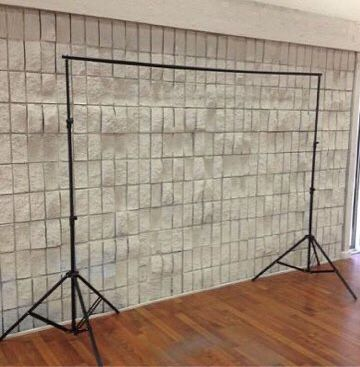 New in box 7 feet tall expand up to 10 feet wide back drop photography backdrop stand