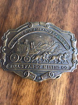 Tiffany New York Wells Fargo Mining Company Belt Buckle for Sale in Davie, FL